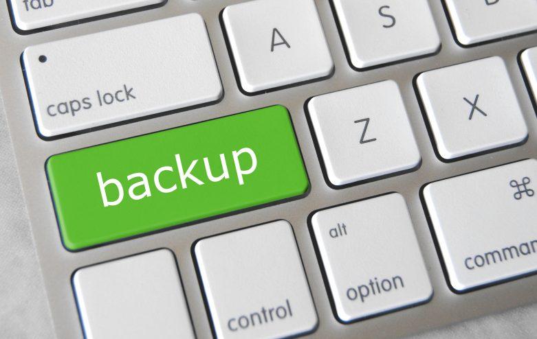 Regelmatig een backup maken is zeer belangrijk